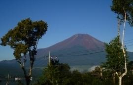 イゾラーナから見た富士山