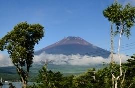 イゾラーナから今朝の富士山.jpg