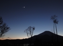 月と金星の接接近